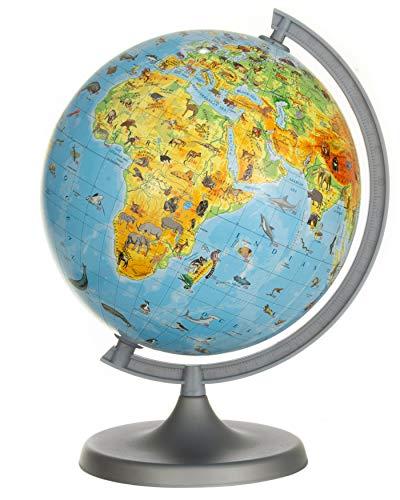 Animals 22cm Globe - Young Kids Globes