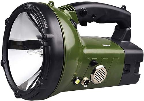 Xenon Handheld Projecteur De Voiture De Travail Lumières Projecteur Chargable, pour Voiture Bateau Véhicule Offroad Conduite Pêche En Plein Air Pêche Chasse Camping Patrol Light Lampe de poche (55w)