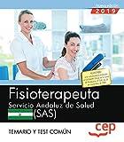 Fisioterapeuta. Servicio Andaluz de Salud (SAS). Temario y test común
