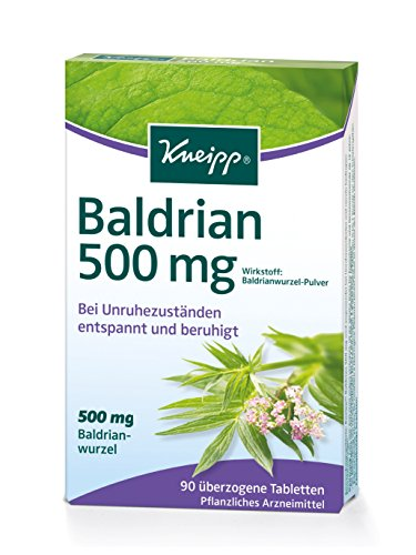 Kneipp Baldrian 500mg ,1x90 Tabletten
