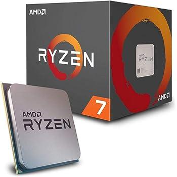 AMD Ryzen 7 2700 Desktop Processor 8 Cores up to 4.1GHz 20MB Cache AM4 Socket (YD2700BBAFBOX)