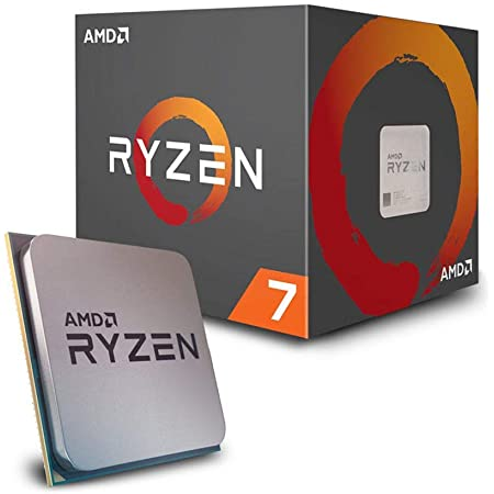 Amazon Com Amd Ryzen 7 2700 Processor With Wraith Spire Led Cooler Yd2700bbafbox Computers Accessories