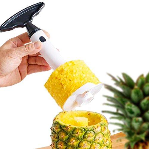 SHOP-STORY - Coupe en Tranche Vos Ananas en Spirale - Éplucher Facilement Vos Ananas