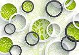 wandmotiv24 Fototapete Baum äste 3D Abstrakt Fenster