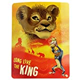 Disney The Lion King Kids Fleece Blanket & Throw, Super Soft, Warm, Breathable Fabric Comfortable Nap Mat, 45 x 60 inch Collectible Throw Ideal for Newborns, Toddlers, Babies, Children