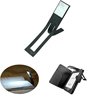 Robotic Flip Up Clip On LED Reading Book Light Bright Lamp Torch Kindle Laptop