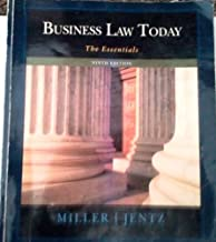 Business Law Today the Essentials Ninth Edition