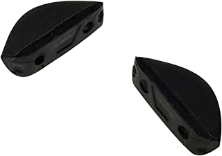 HKUCO Black Replacement For Oakley Triggerman Sunglasses Rubber Kit