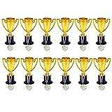 BESPORTBLE 24Pcs Trofei Coppe Medaglie Premio Vincitore Premi Premi Regali Bomboniere per ...