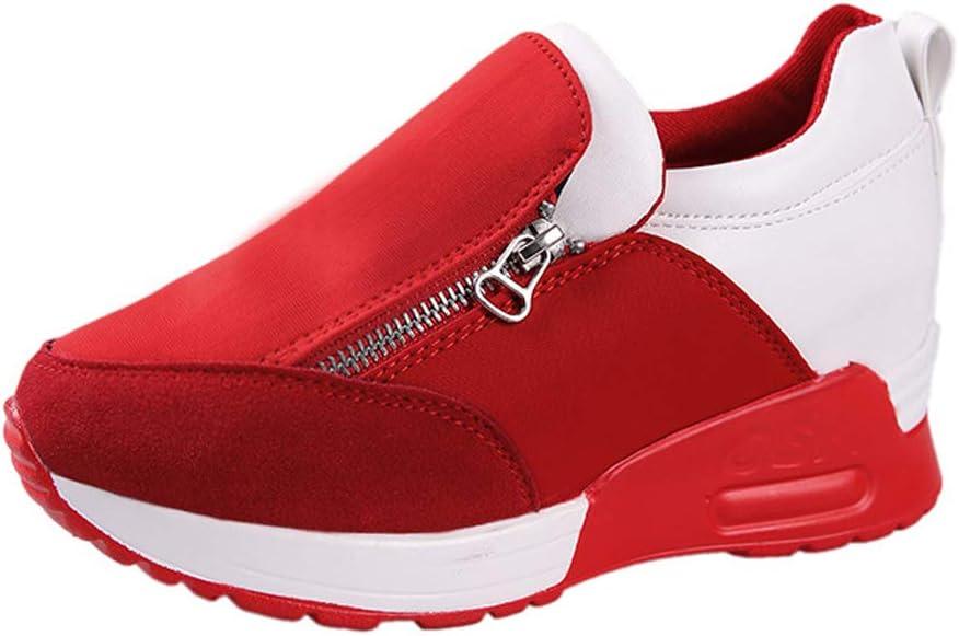 JXILY Sneakers Casual Shoes Running Shoes Flat Shoes Platform Shoes Single Shoes Women's Shoes Sports Shoes Walking Shoes Anti Slip Road Running Shoe