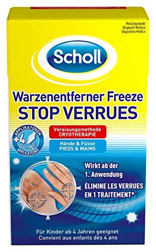 Scholl Warzenentferner Freeze - Gezielte Warzenvereisung für Hände und Füße