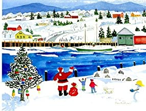 Harbor Christmas Advent Calendar by Anne Kilham
