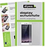 dipos I 2X Schutzfolie matt kompatibel mit Oppo F1 Folie Bildschirmschutzfolie