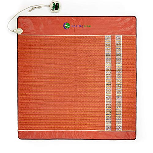 HealthyLine Far Infrared Heating Pad - TAO Mat Small 1818 Soft InfraMat Pro