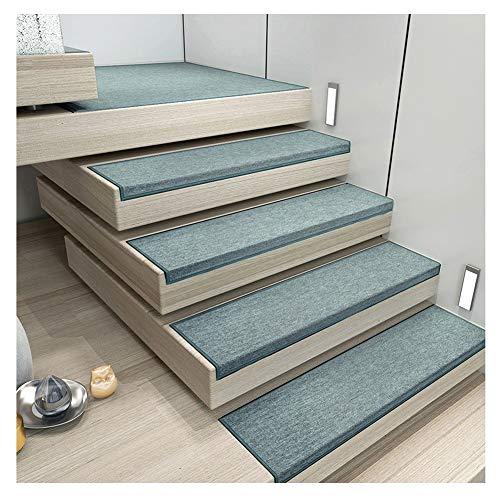HYL Stufenmatten Stufenmatte Treppen-Teppich Rechteck Einfarbig Selbstklebend Kurzer Flaum rutschfest 4 Farben 5 Größen (Color : C- 30X85CM, Size : 1pcs)