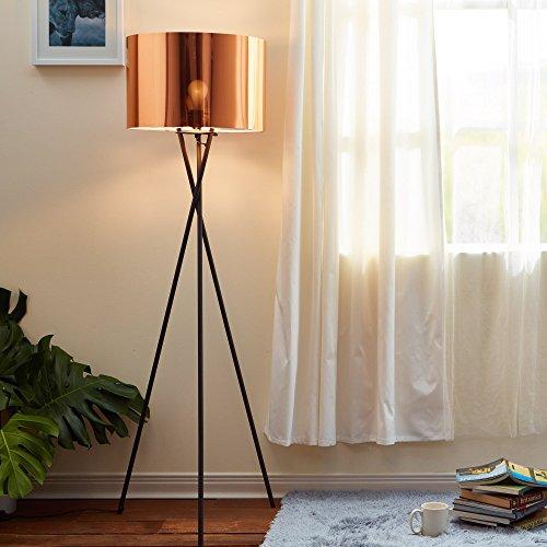 Lámpara LED de pie trípodeestándarVersanoraen cobre VN-L00002