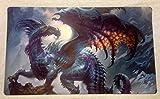 Swamp Dragon TCG playmat, gamemat 24' wide 14'...