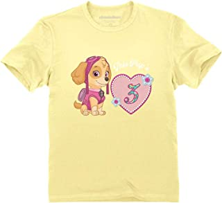 Official Paw Patrol Skye 3rd Birthday Toddler Kids T-Shirt