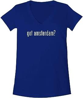 The Town Butler got Amsterdam? - A Soft & Comfortable Women's V-Neck T-Shirt