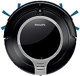 Philips SmartPro Compact FC8710/01 aspirapolvere robot Senza sacchetto Nero, Metallico, Argento 0,25 L