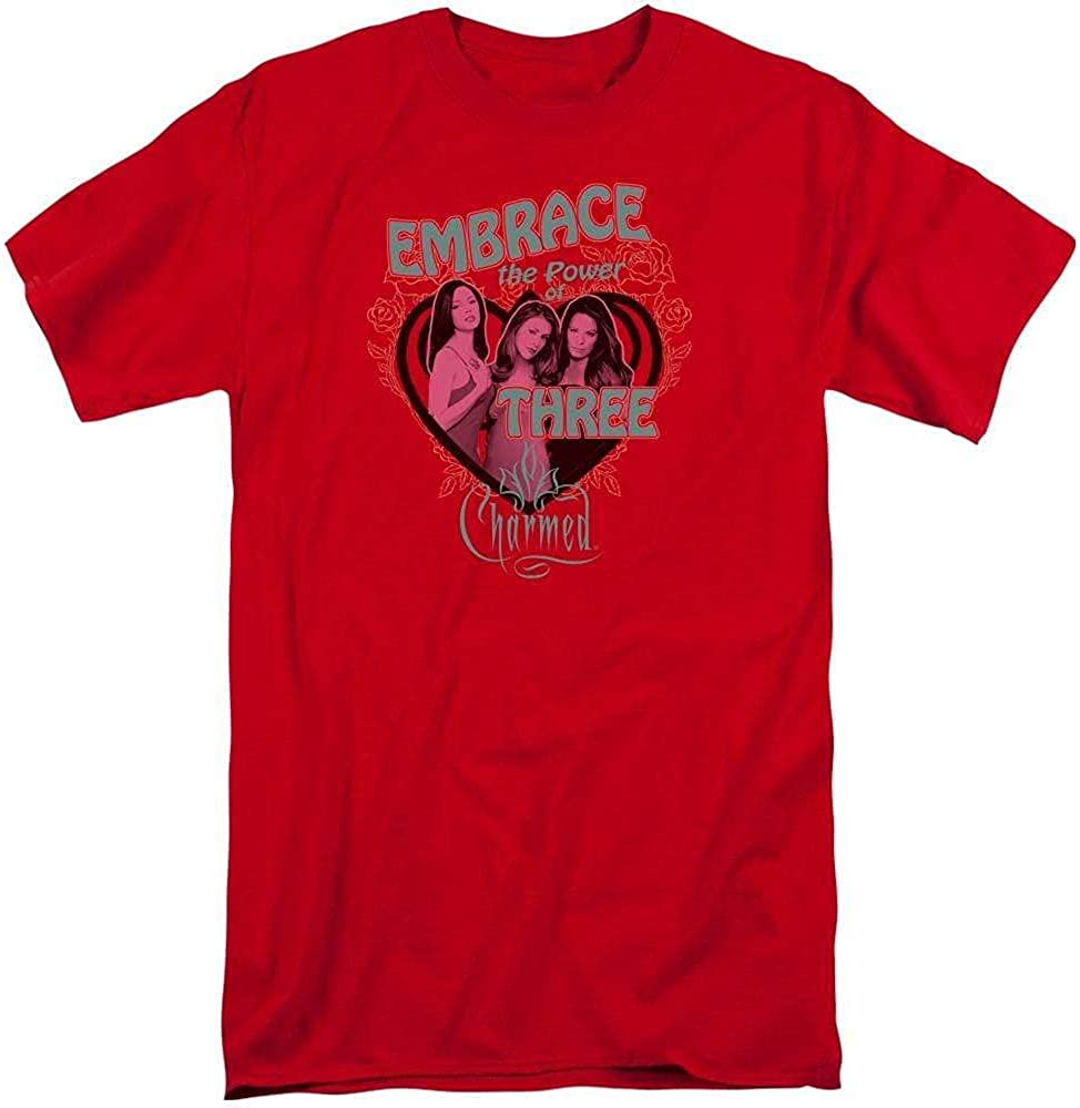 Charmed Embrace The Power Adult Tall Fit T-Shirt