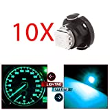 cciyu T5/T4.7 12mm Neo Wedge A/C Climate Control Light Instrument Panel LED Bulbs