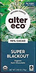 Alter Eco Super Blackout Chocolate Bar