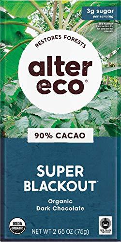 image of Alter Eco Organic 90% Cacao Super Blackout Dark Chocolate