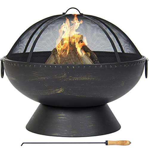 Best Choice Products, Large Fire Pit Bowl