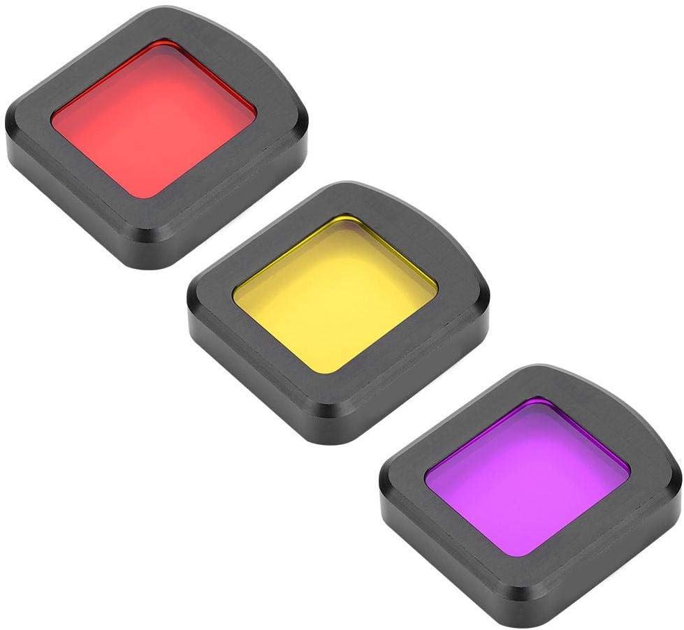 Mugast UV-Kamera-Filter Leichter langlebiger UV-Filter f/ür die SJCAM SJ8 AIR//PRO//Plus Sportkamera 3 Farben