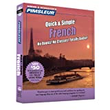 Pimsleur French Quick & Simple Course - Level 1 Lessons 1-8 CD: Learn to Speak and Understand French with Pimsleur Language Programs (1)