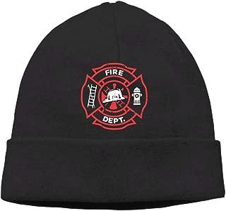 GDSG5&4 Distressed Firefighter Men/Women Quick Dry Winter Ski Beanie Skull Cap