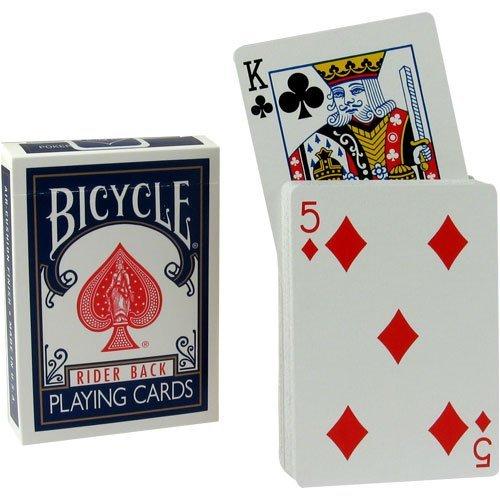 Magic Geek, Inc. Magic Rising Card Deck Trick - Blue Bicycle Back by