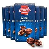 Tims Mini Brownies 7x200 g I Minimuffins mit cremiger Kakaofüllung I 9 einzeln verpackte, saftige Cupcakes ohne Konservierungsstoffe I Kaffeegebäck I Traditionelle kanadische Backwaren...