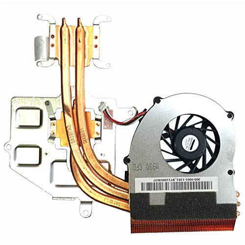 (Version 2) Lüfter Kühler Fan Cooler mit Kühlkörper kompatibel für Sony Vaio VPCF1 M930, PCG-81112M, PCG-81113M, VPCF13, VPCF12, VPCF11, VPCF1, VPCF