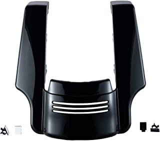 US STOCK Vivid/Glossy Black 4 1/2 inch Stretched Rear Fender Extension Fit for Harley Touring Road King Street Glide Special 2014 2015 2016 2017 2018 2019 Filler Kit Extended Extender Flare