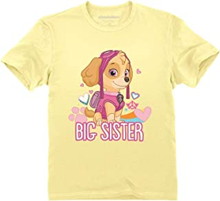 Official Paw Patrol - Skye Big Sister Toddler Kids T-Shirt