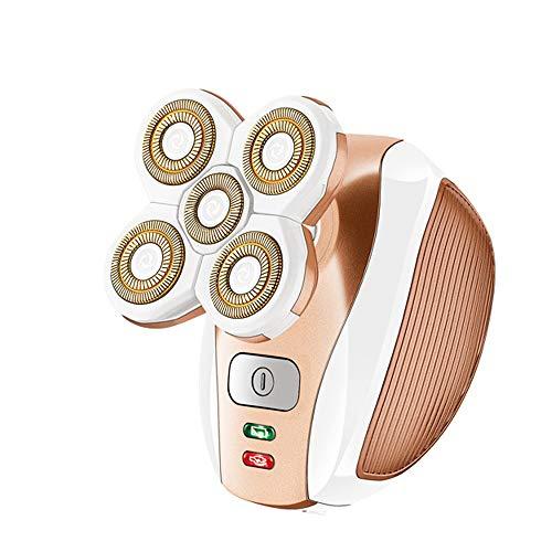 SONAX PRO USB Multifonctionnel Indolore FéMinin D'éPilation Chargeant La TêTe De Coupeur du Rasoir 5