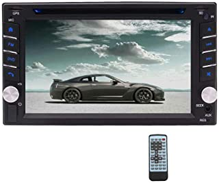 Eincar Double Din Car Radio 6.2 inch Touch Screen Car Stereo DVD Player with Bluetooth 2 Din GPS Navigation Head Unit Supo...