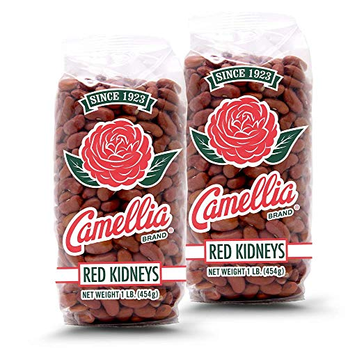 Camellia Brand Dry Red Kidney Beans, 1 Pound (2 Pack)