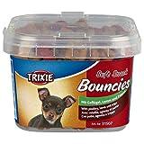 TRIXIE Snack Soft Snack Bouncies, 140 g, Ave, Cordero y Tripa, Perro