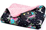 JoGo-Designs Kuschelige Babydecke extra weich & flauschig zum schmusen I Materialien nach OEKO TEX...