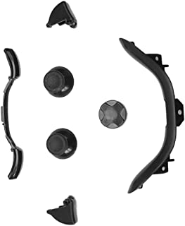 Refaxi Replacement LB RB LT RT Buttons Part Accessories Black for Xbox 360 Controller