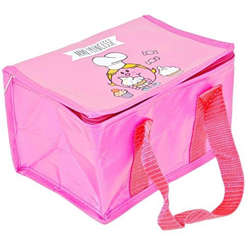 Mr et Mme - Lunch Bag Enfant Sac Repas Isotherme Mr Et Mme Princesse Rose