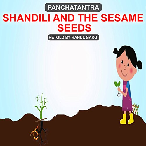 Shandili and the Sesame Seeds audiobook cover art