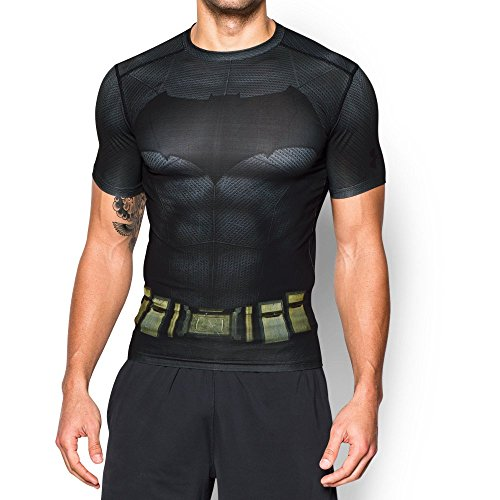 Under Armour Batman Suit Ss - Camiseta de manga corta Hombre