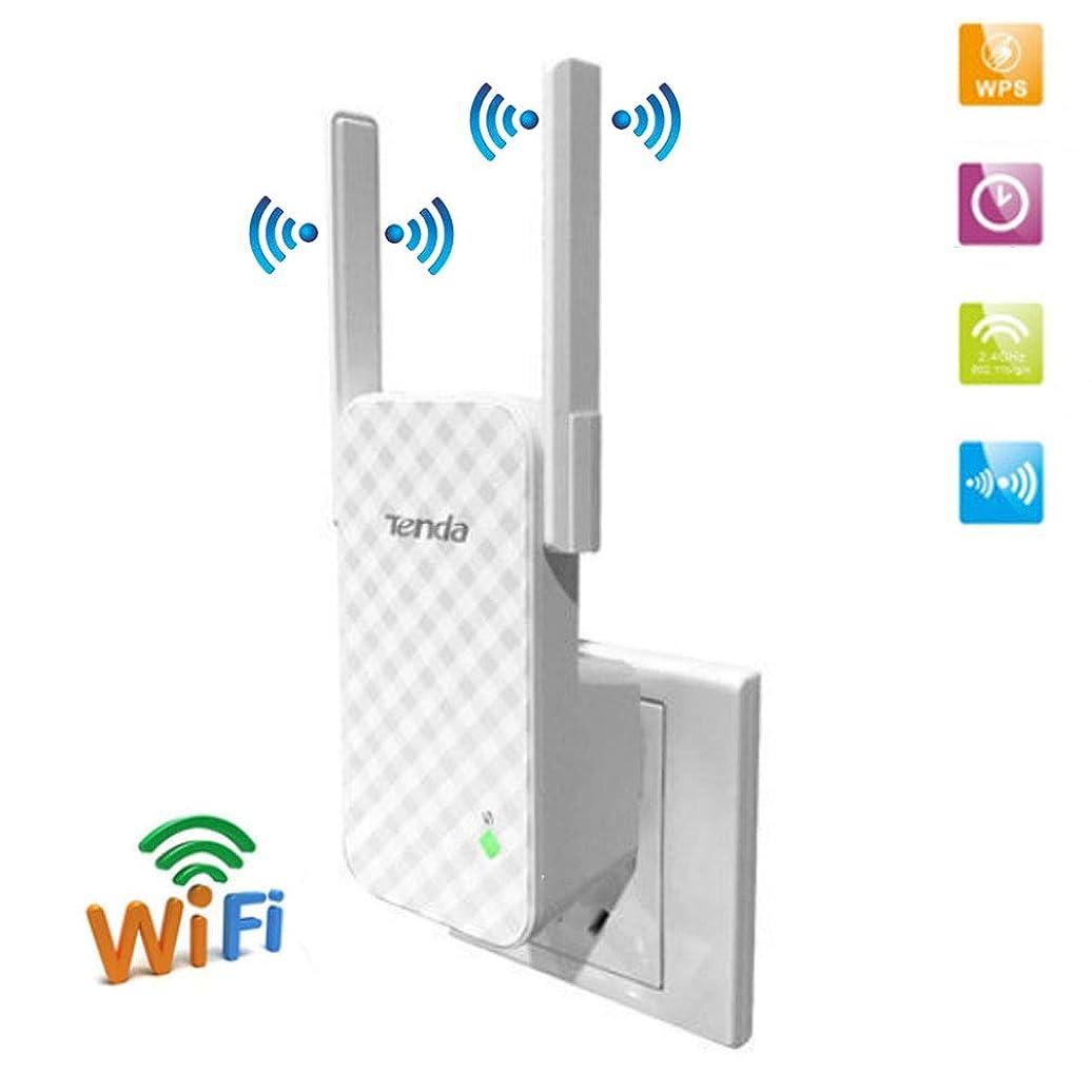 グレード可聴比べるリピータ wi-fi レンジエクステンダルータ N300 信号 Enhancerr/ホットスポット長距離ブロードバンドエクステンダアンプ (ホワイト)