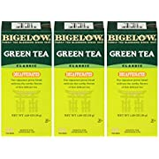 Bigelow Decaffeinated Green Tea 28-Count Box (Pack of 3) Premium Bagged Caffeine-Free Green Tea Antioxidant-Rich All Natural Decaffeinated Tea in Individual Foil-Wrapped Bags