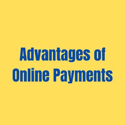 Vorteile von Online-Zahlungen
