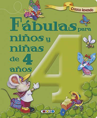 Fábulas para niños y niñas de 4 años (Crezco leyendo)